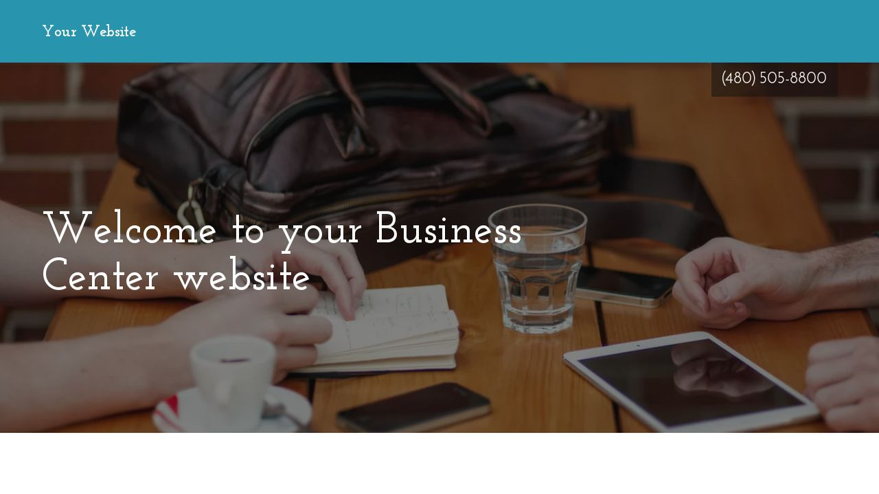 Business Center Website: Example 7