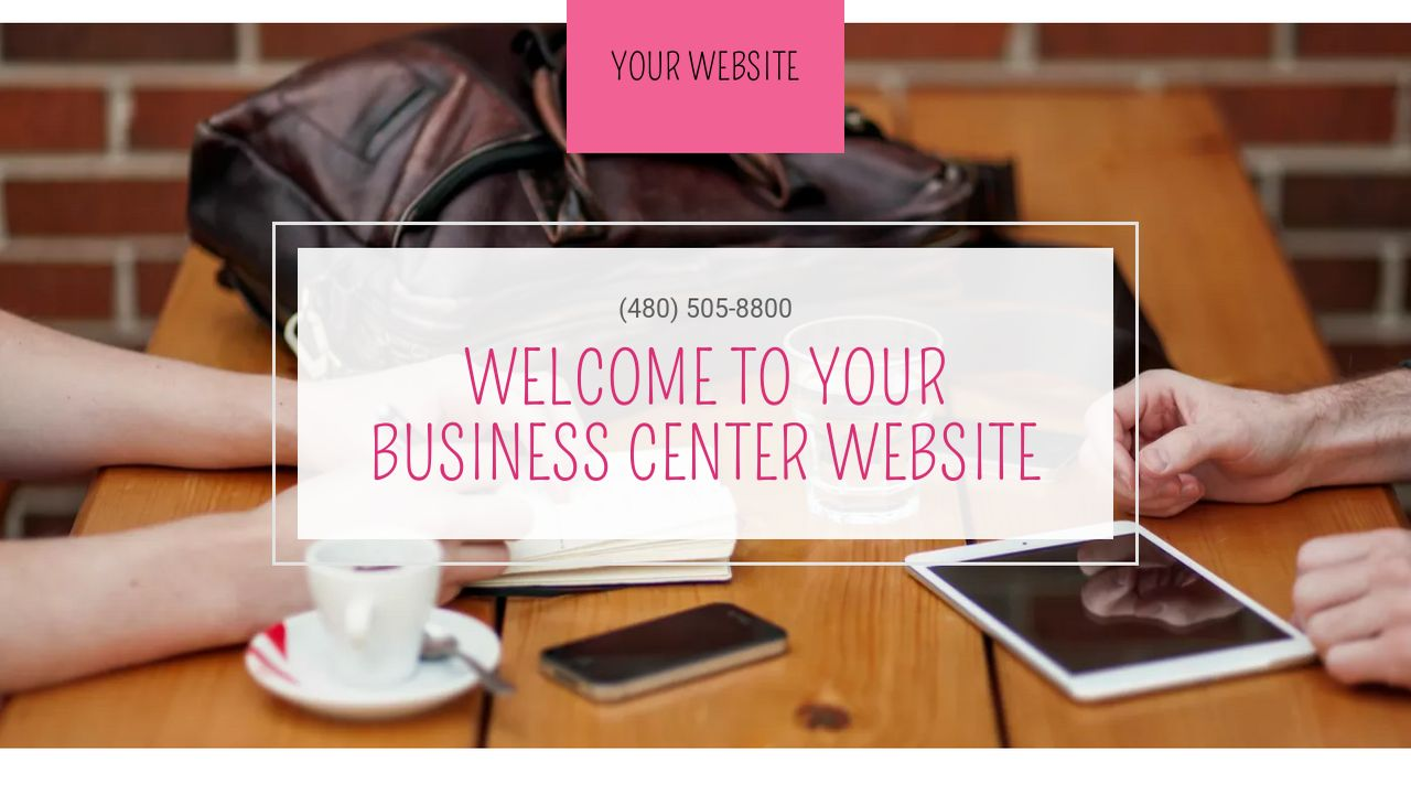 Business Center Website: Example 9