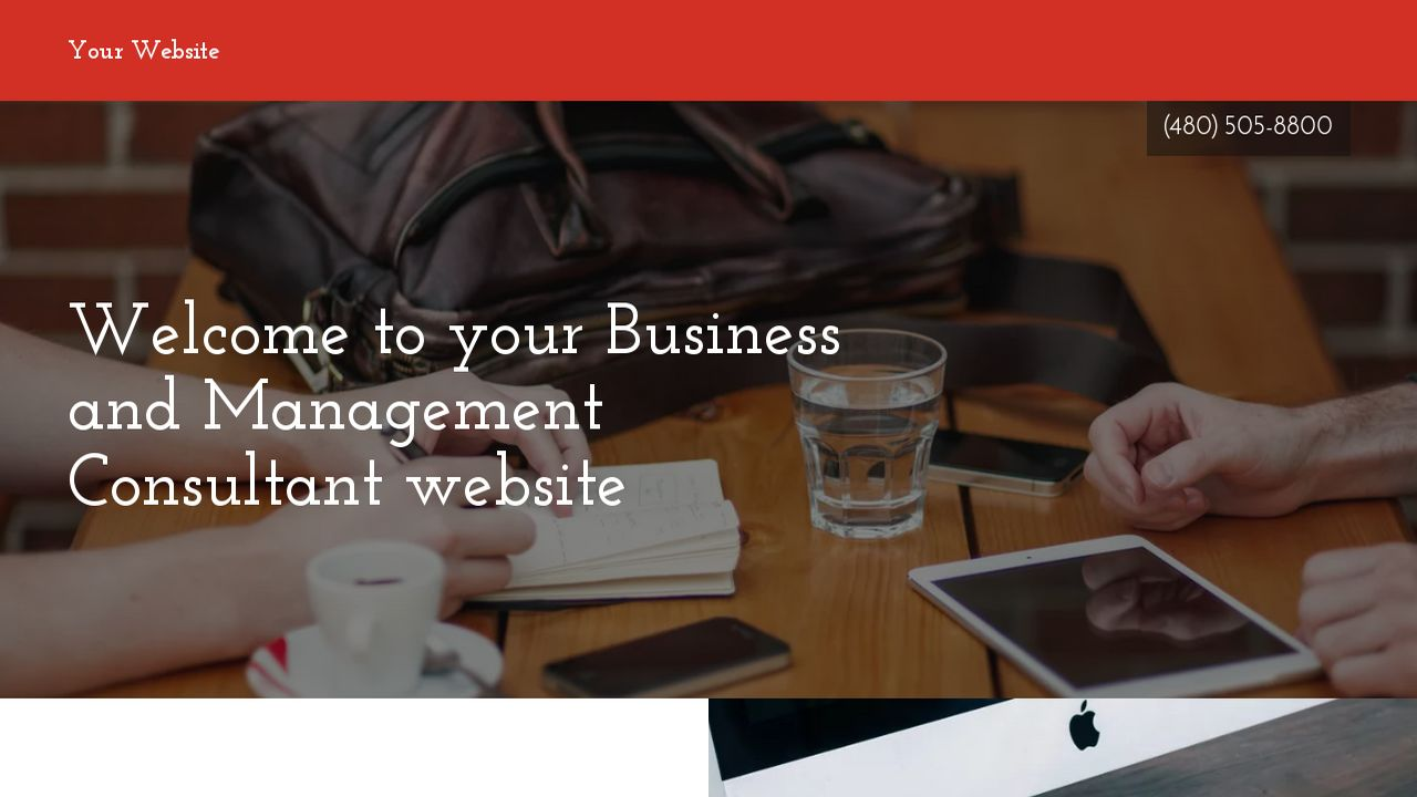 business and management consultant website templates godaddy