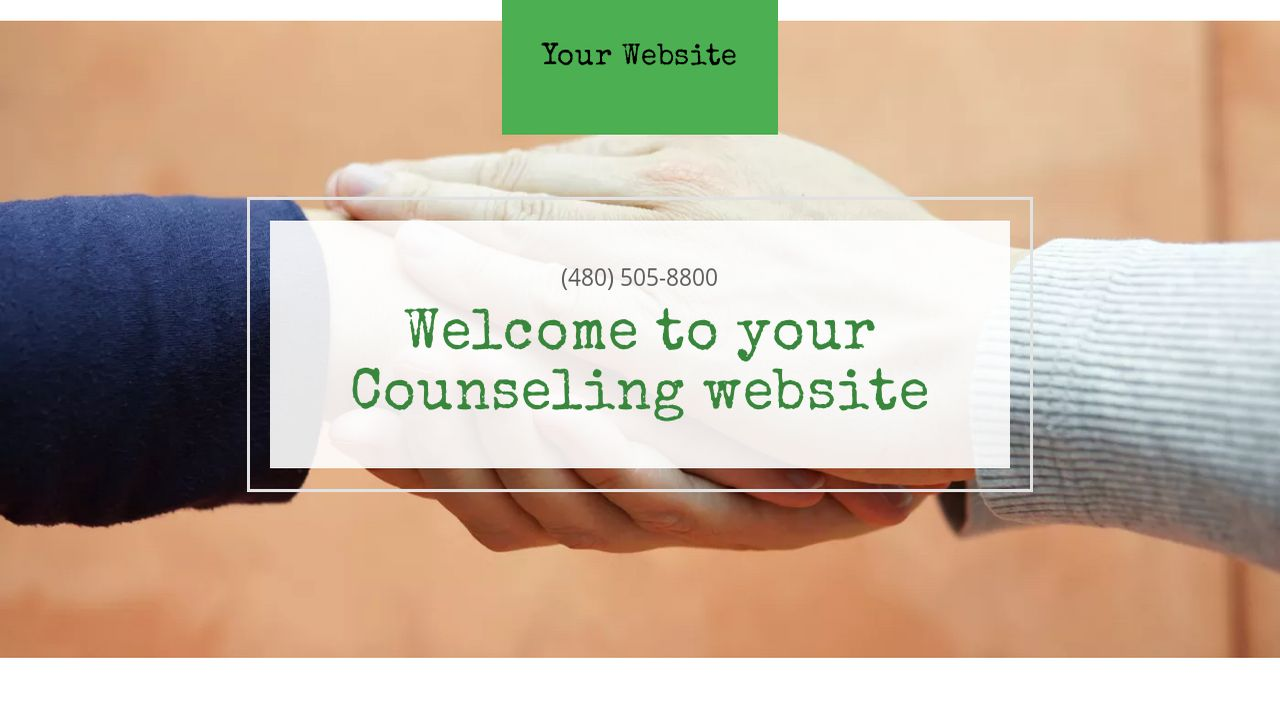 Counseling Website Templates   GoDaddy