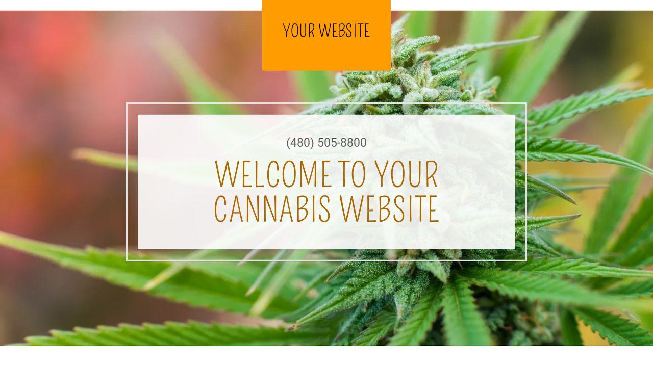 cannabis website templates