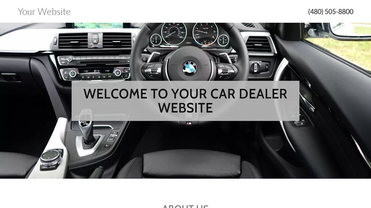 free car dealer website templates auto dealer templates phpjabbers