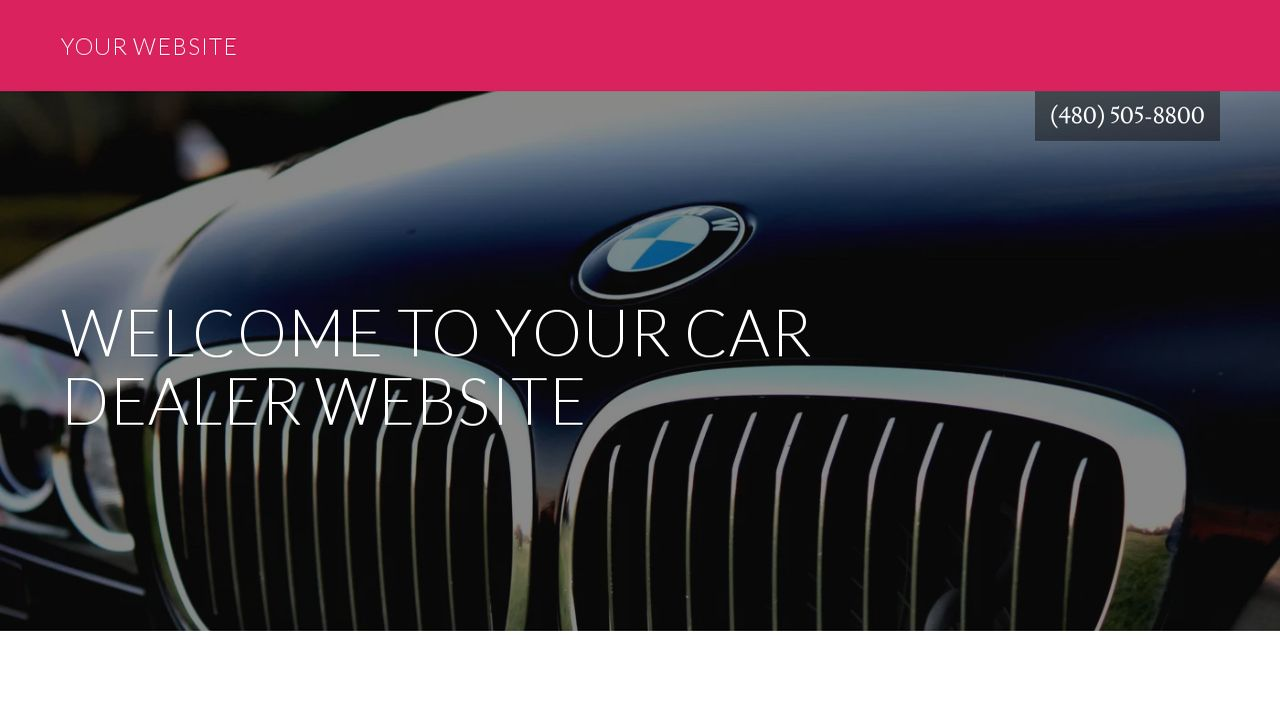 car dealer website templates godaddy