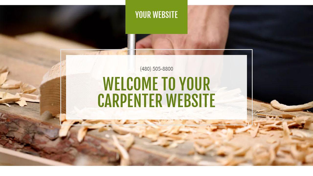 Carpentry Websites Templates