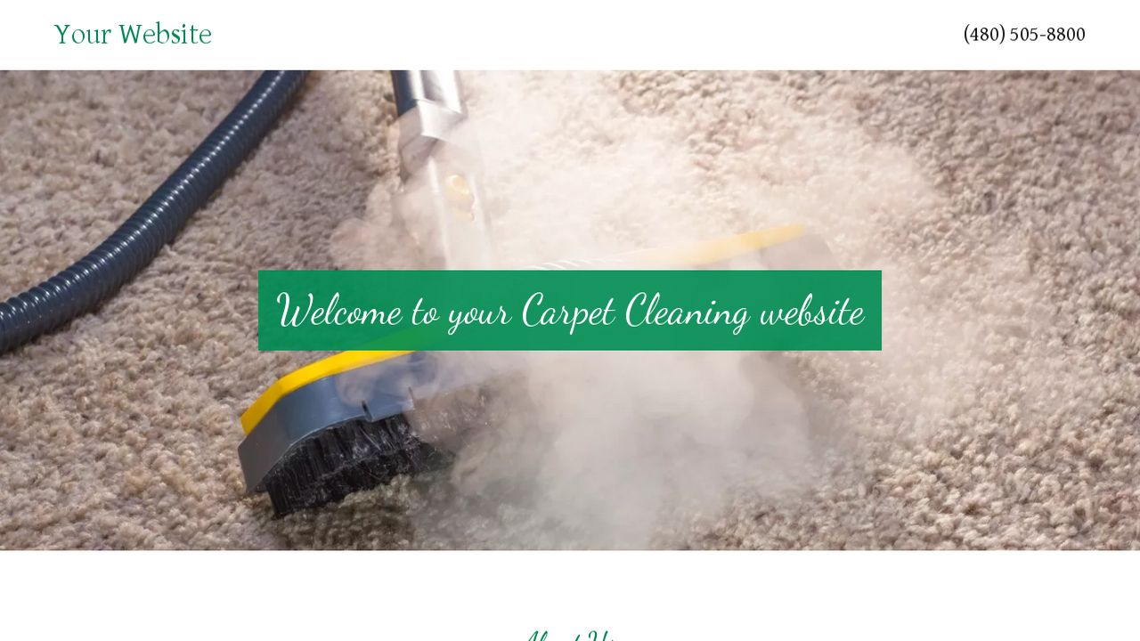 Carpet Cleaning Website Templates Godaddy