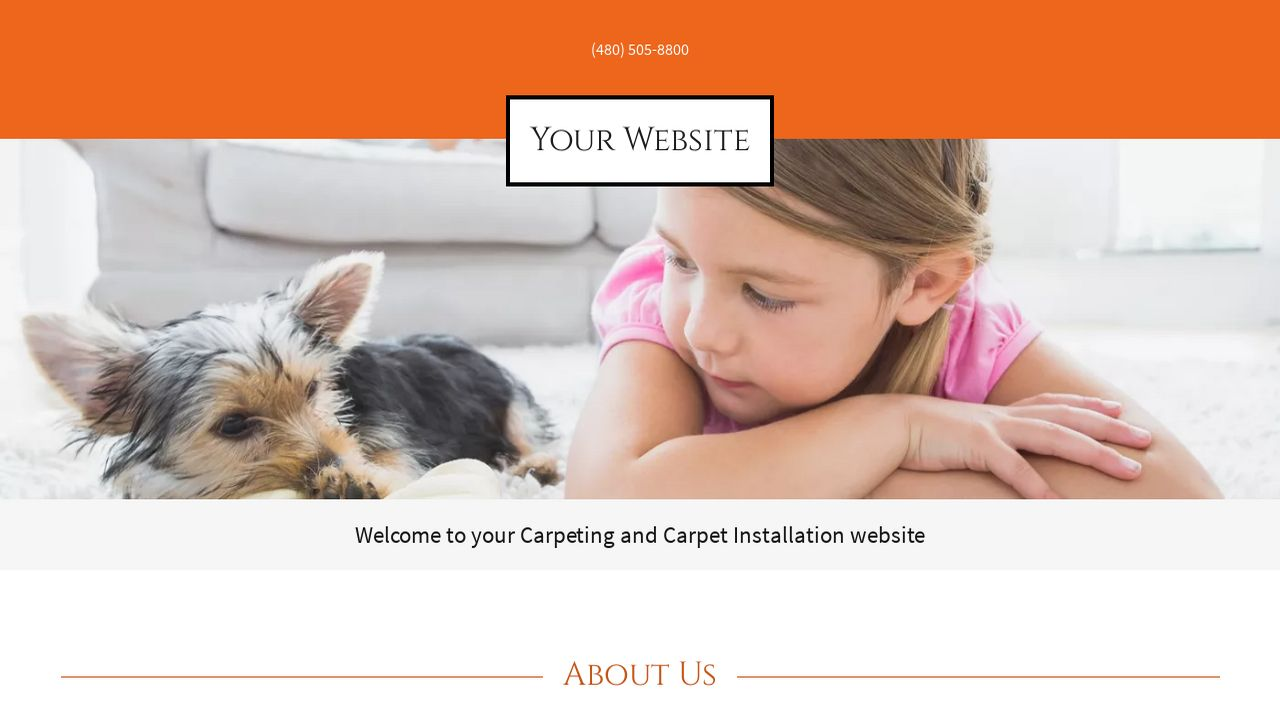 Carpeting and Carpet Installation Website: Example 11