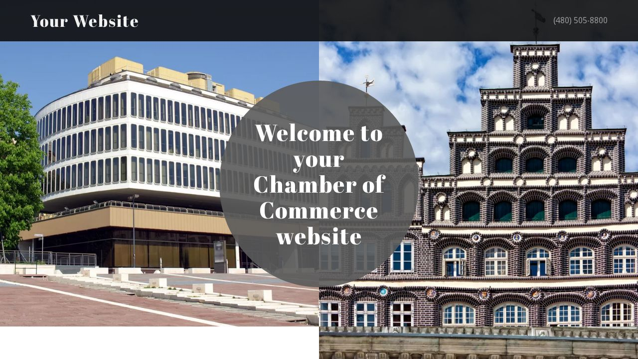 Chamber of Commerce Website: Example 6