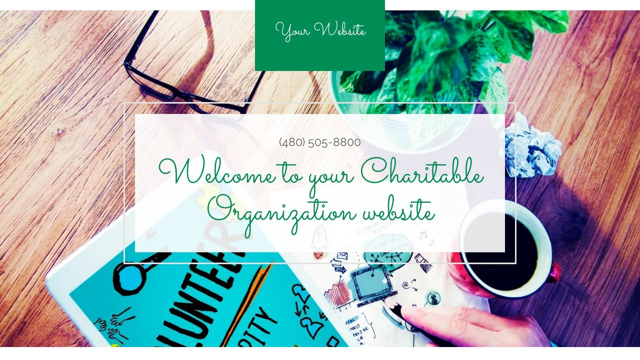 Charitable Organization Website: Example 15