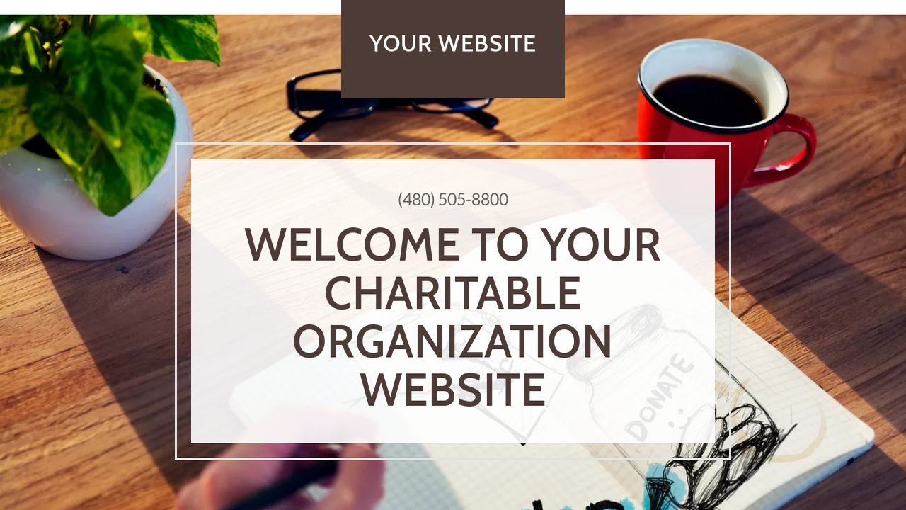 Charitable Organization Website: Example 8