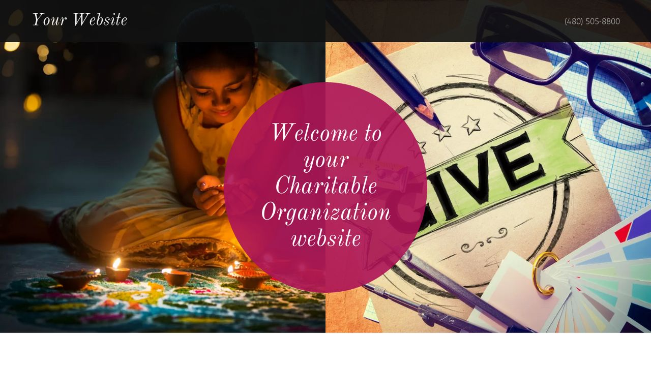 Charitable Organization Website: Example 9