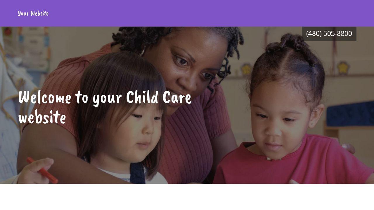 Child Care Example 14