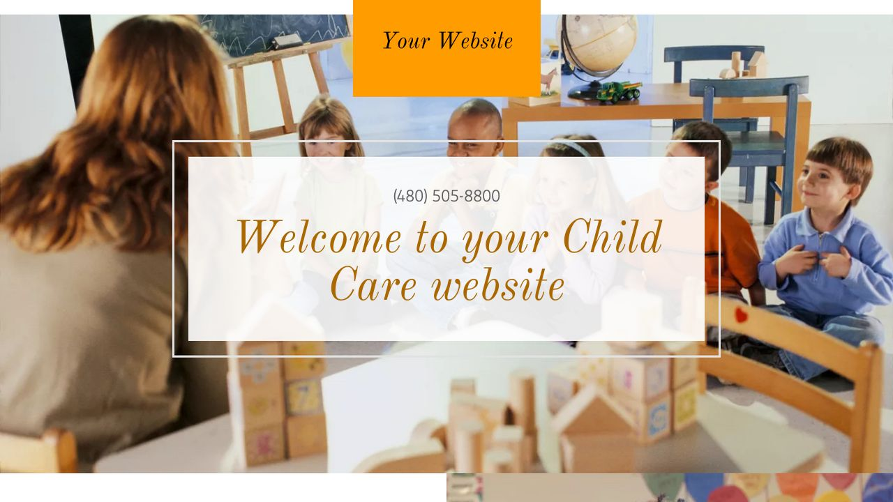 Child Care Website: Example 15