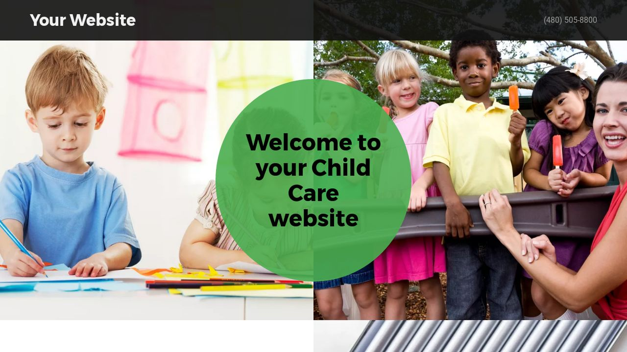 Child Care Website: Example 5
