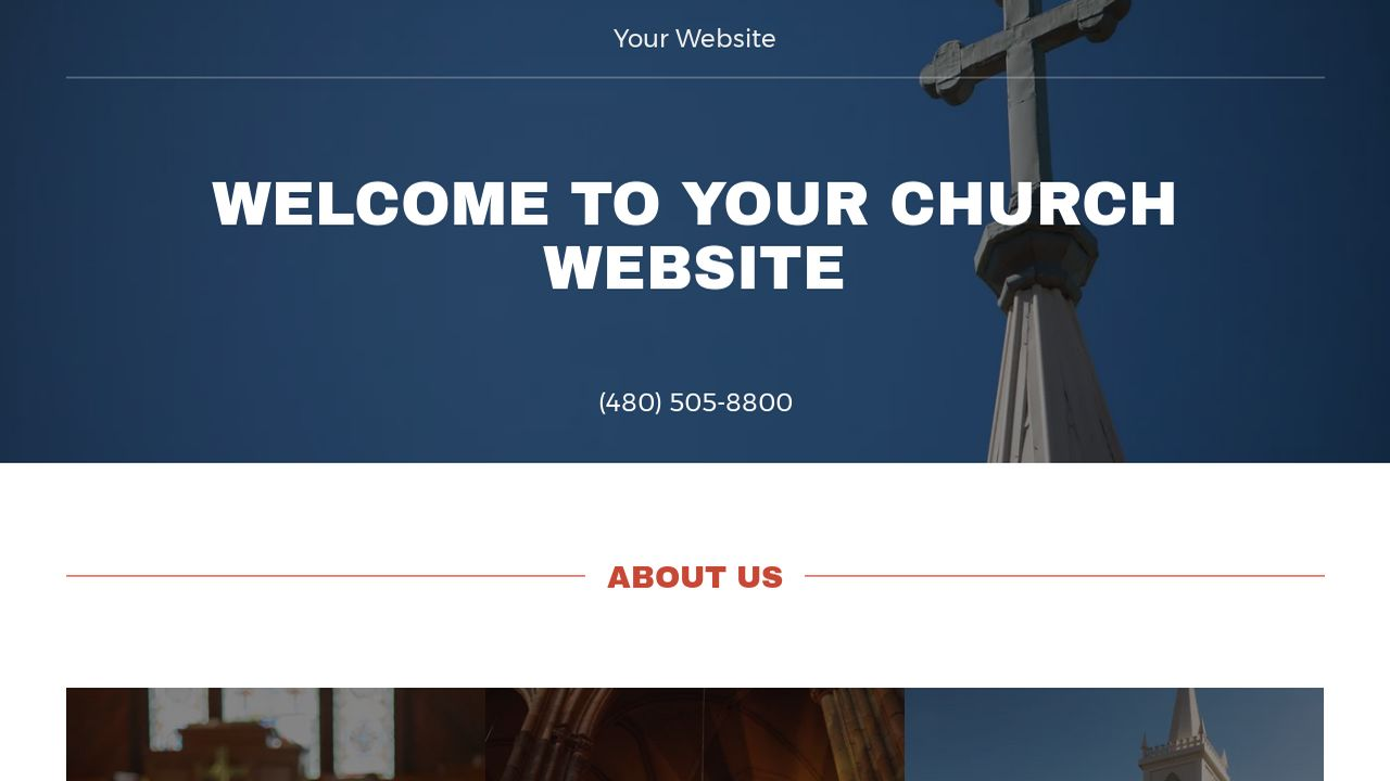 Church Website Templates GoDaddy - Church website templates