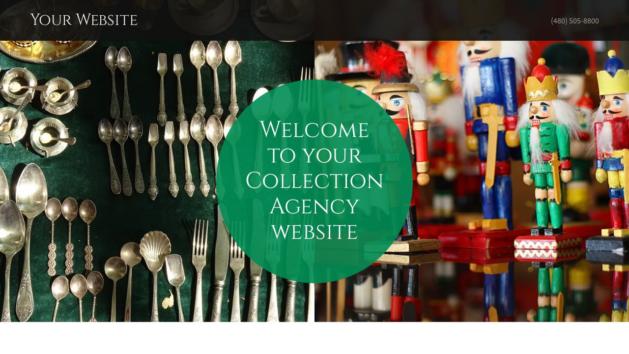 Collection Agency Website: Example 1
