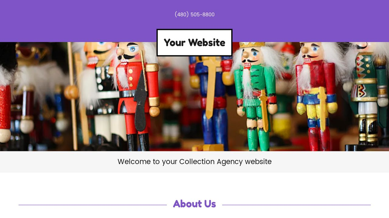 Collection Agency Website: Example 13