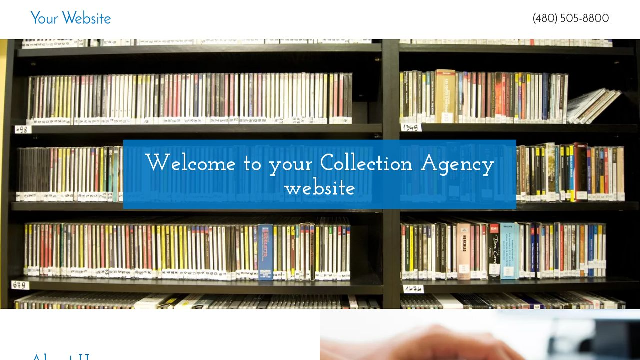 Collection Agency Website: Example 17
