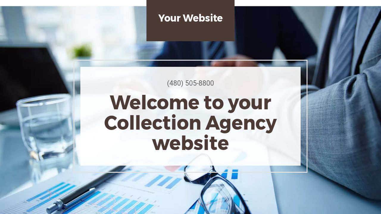 Collection Agency Website: Example 9