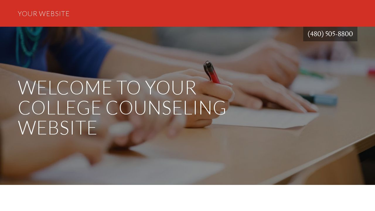 College Counseling Website: Example 17