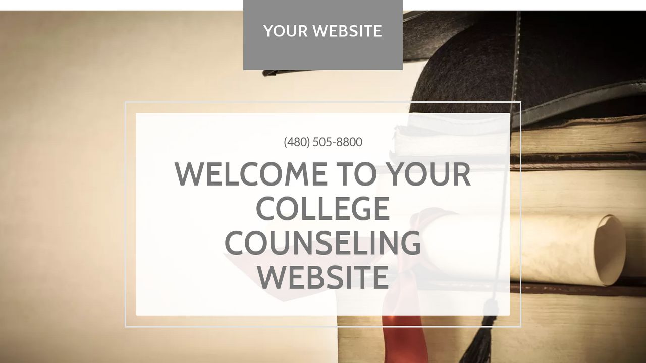 College Counseling Website: Example 4