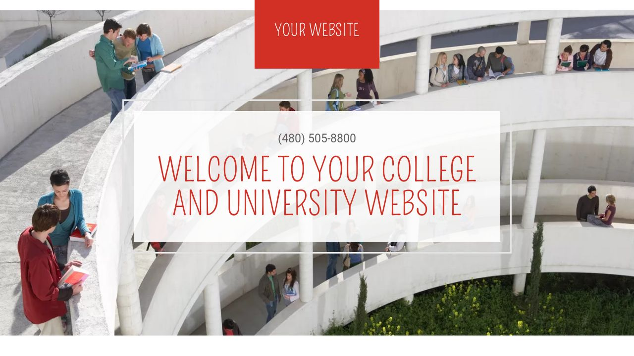 College and University Website: Example 15