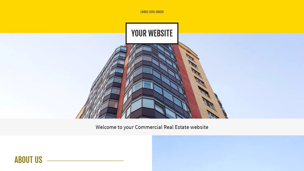 Commercial Real Estate Website: Example 16