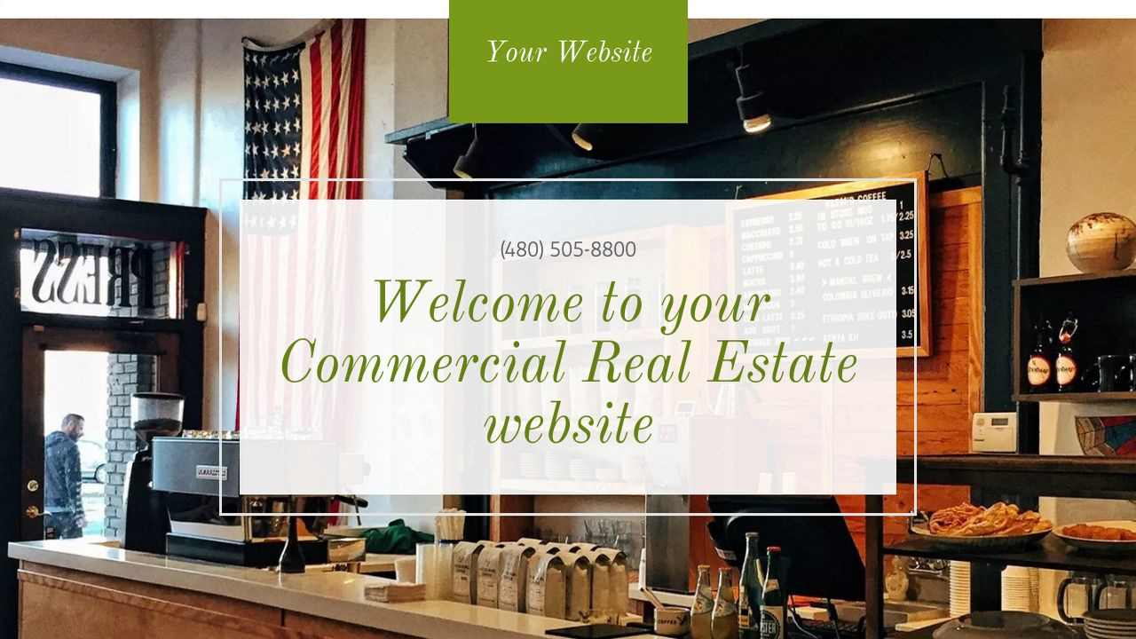 Commercial Real Estate Website: Example 17