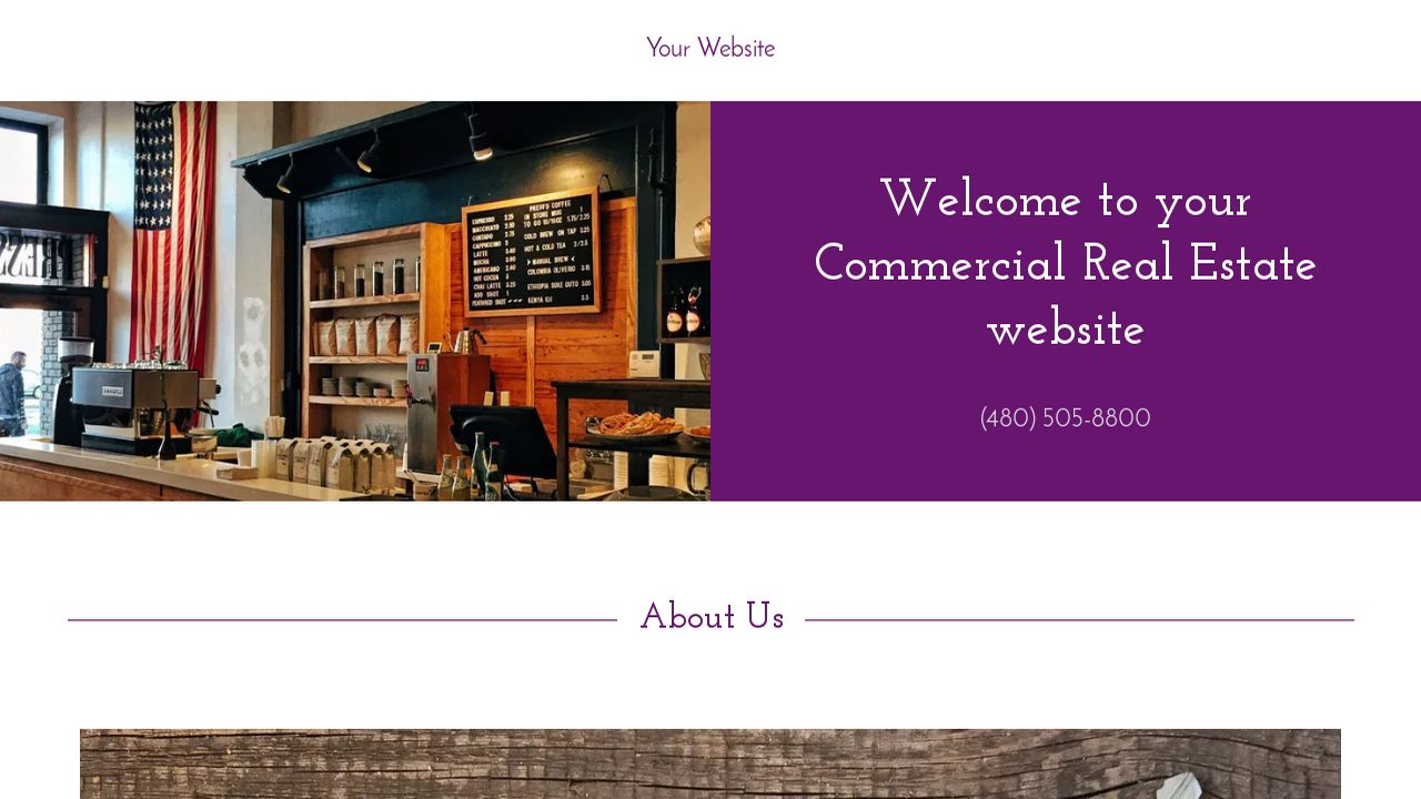 Commercial Real Estate Website: Example 18