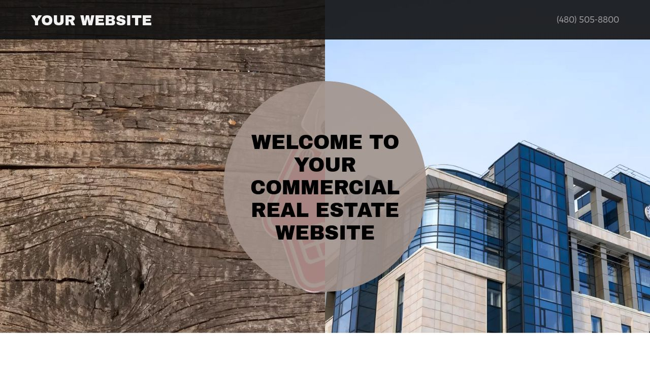 Commercial Real Estate Website: Example 7