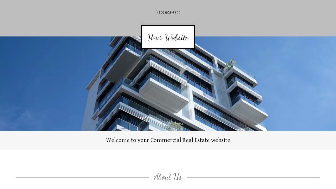 Commercial Real Estate Website: Example 9
