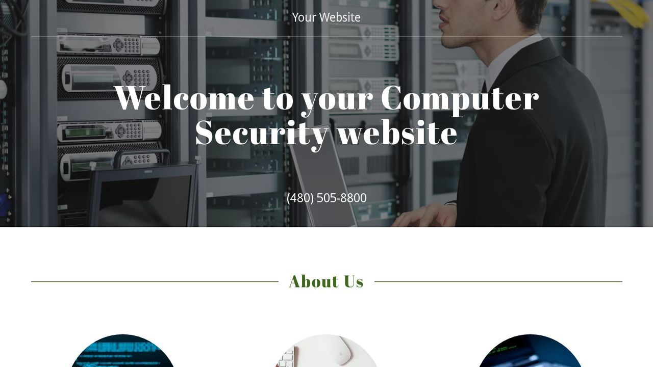 cnc machinist resume%0A Computer Security Website Templates   GoDaddy