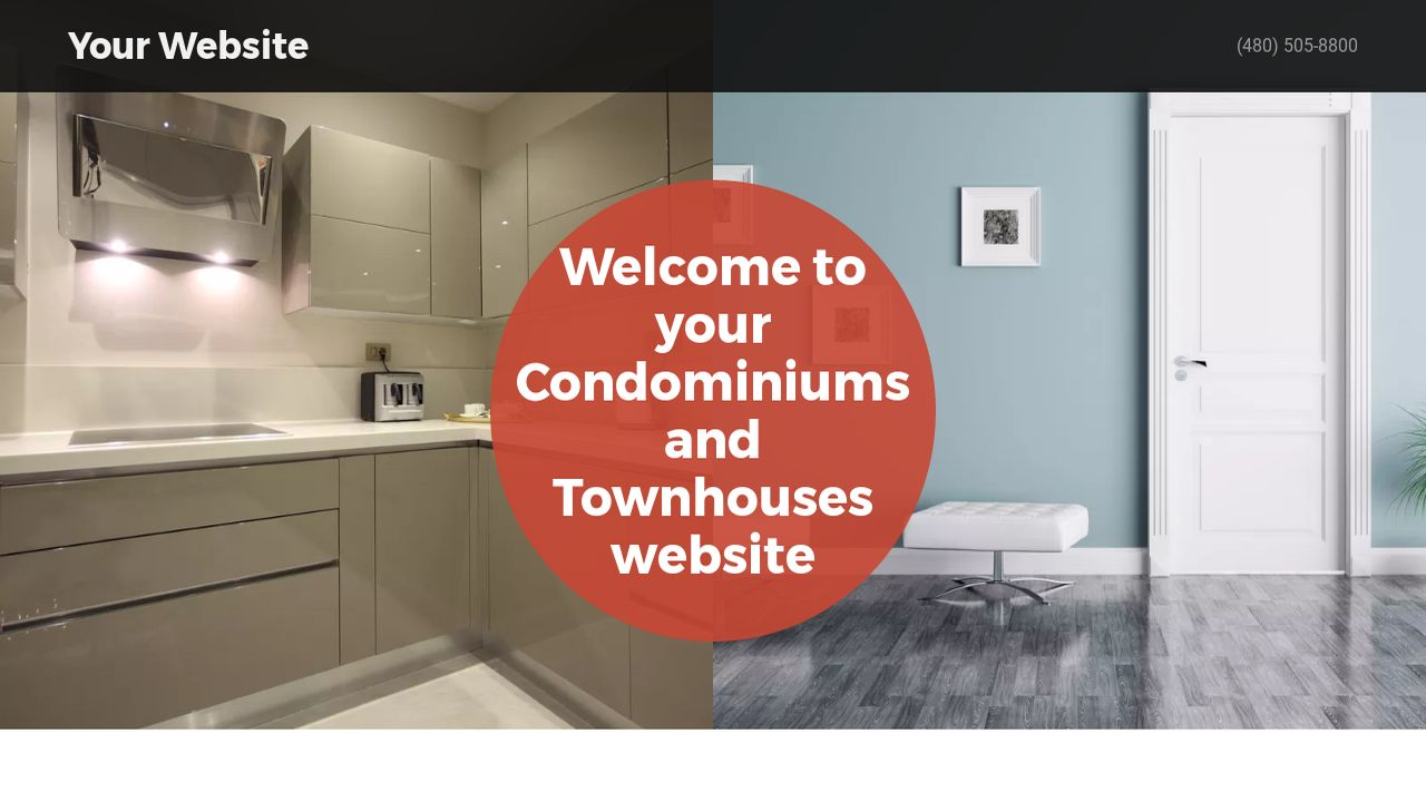 Condominiums and Townhouses Website: Example 18