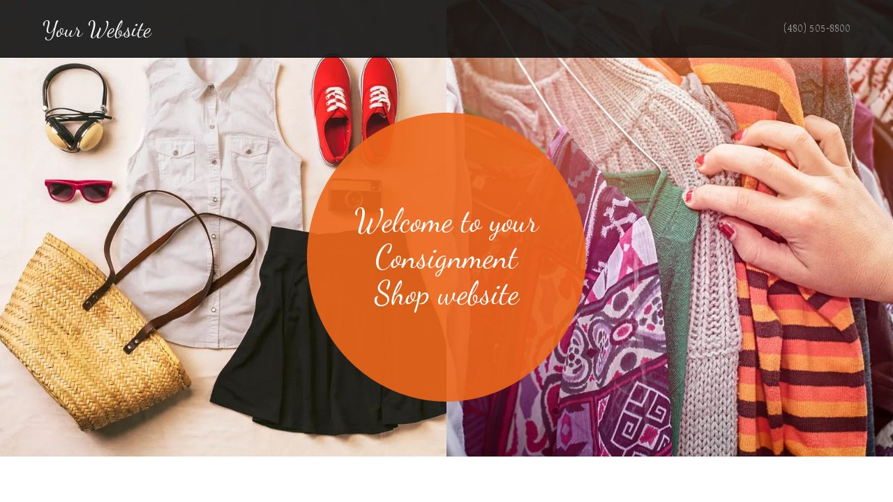 Consignment Shop Website: Example 14