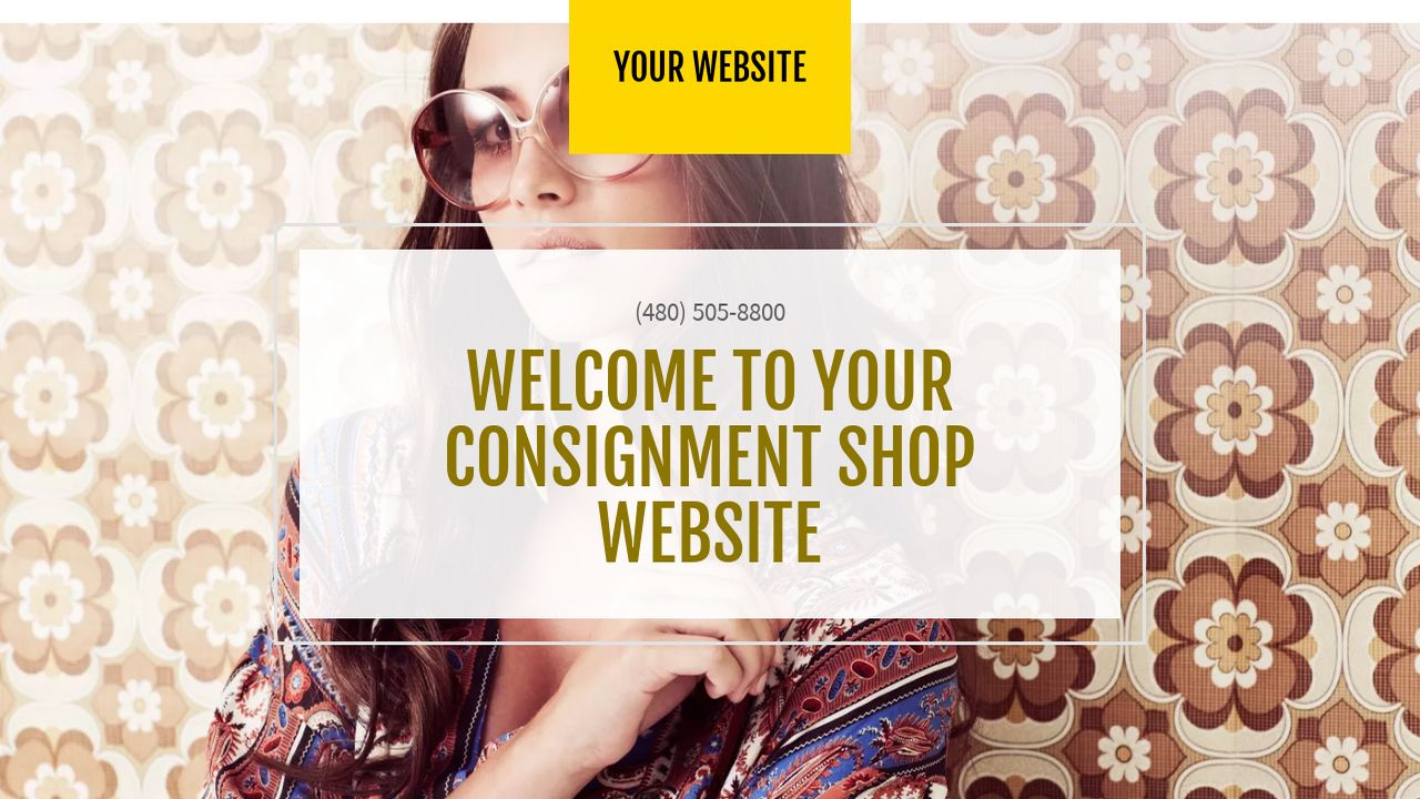 Consignment Shop Website: Example 3