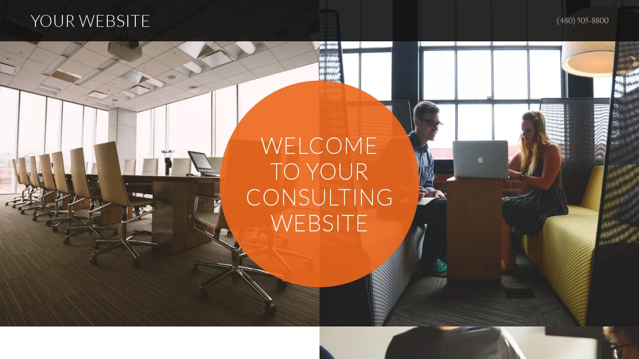 Consulting Website: Example 12
