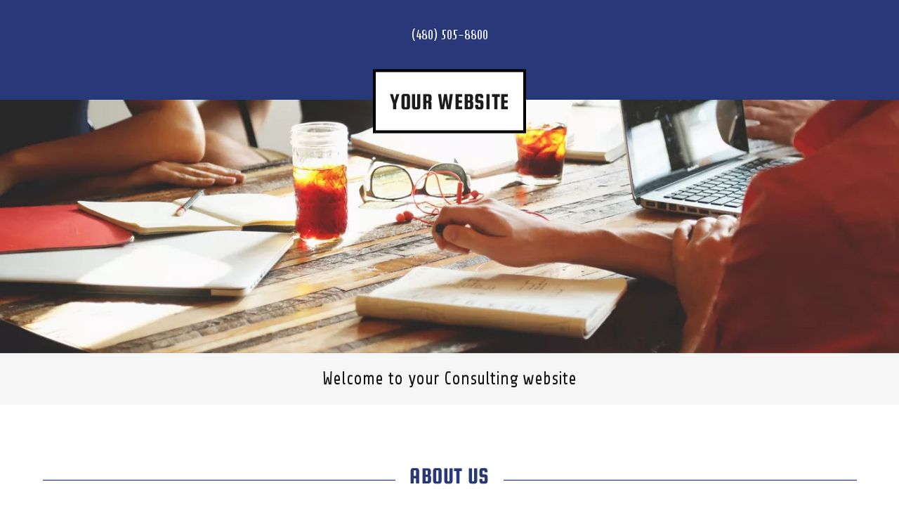 Consulting Website: Example 14