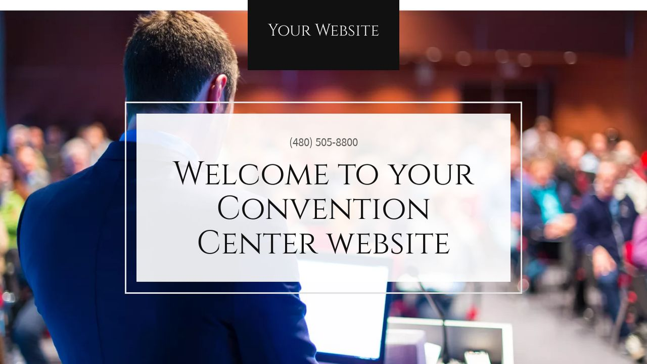 Convention Center Website: Example 12