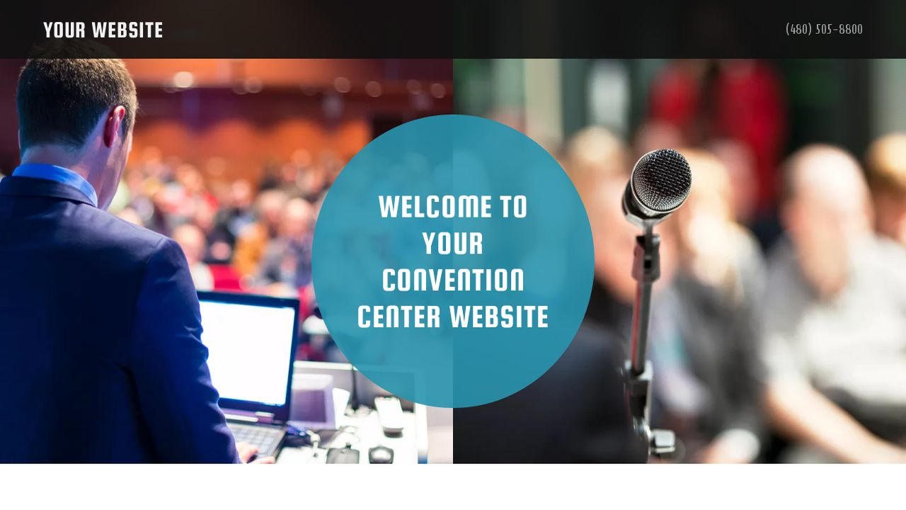 Convention Center Website: Example 2