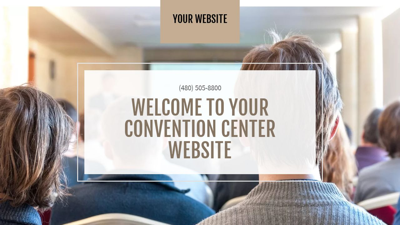 Convention Center Website: Example 5