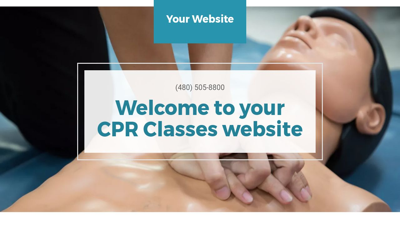 CPR Classes Website: Example 8