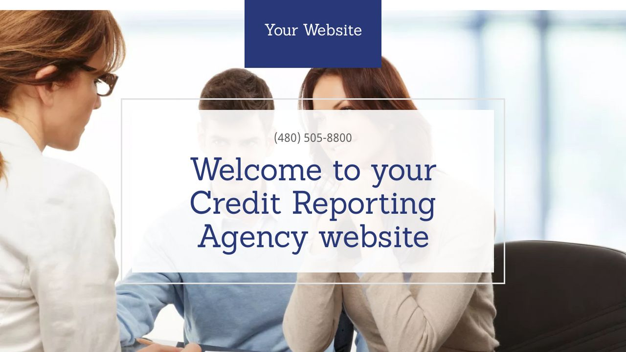 Credit Reporting Agency Website: Example 14