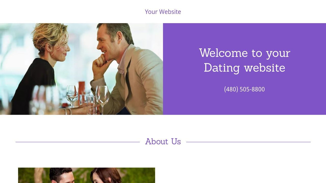 go daddy dating site template You can register a domain in almost any country through godaddy, or you can use other country-specific sites like crazydomainscomau (aus) register the domain that you website you can choose from a vast array of templates (some designed specifically for musicians), and you can switch between them at any point.