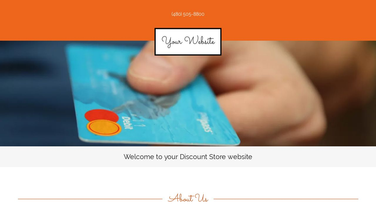Discount Store Website: Example 3