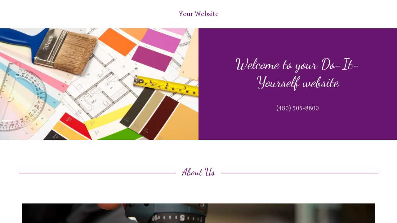 Do it yourself website templates godaddy do it yourself example 11 solutioingenieria Choice Image