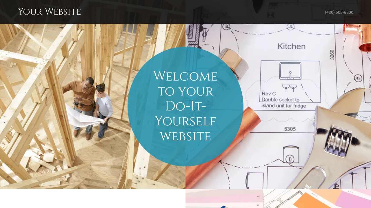 Do it yourself website templates godaddy do it yourself example 17 solutioingenieria Choice Image