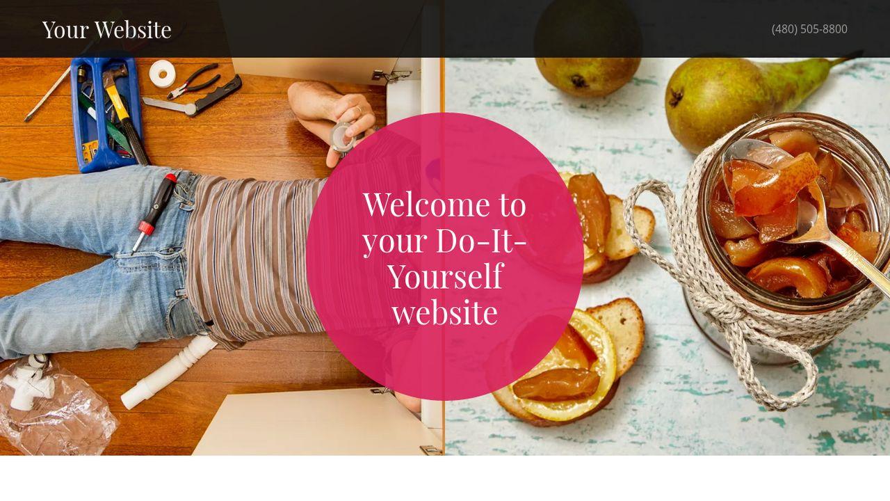 Do it yourself website templates godaddy do it yourself example 3 solutioingenieria Gallery