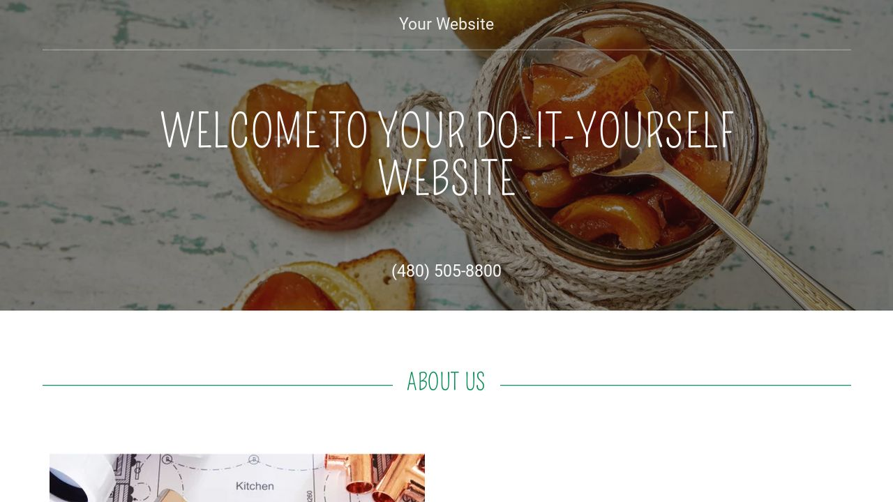 Do it yourself website templates godaddy do it yourself example 5 solutioingenieria Gallery