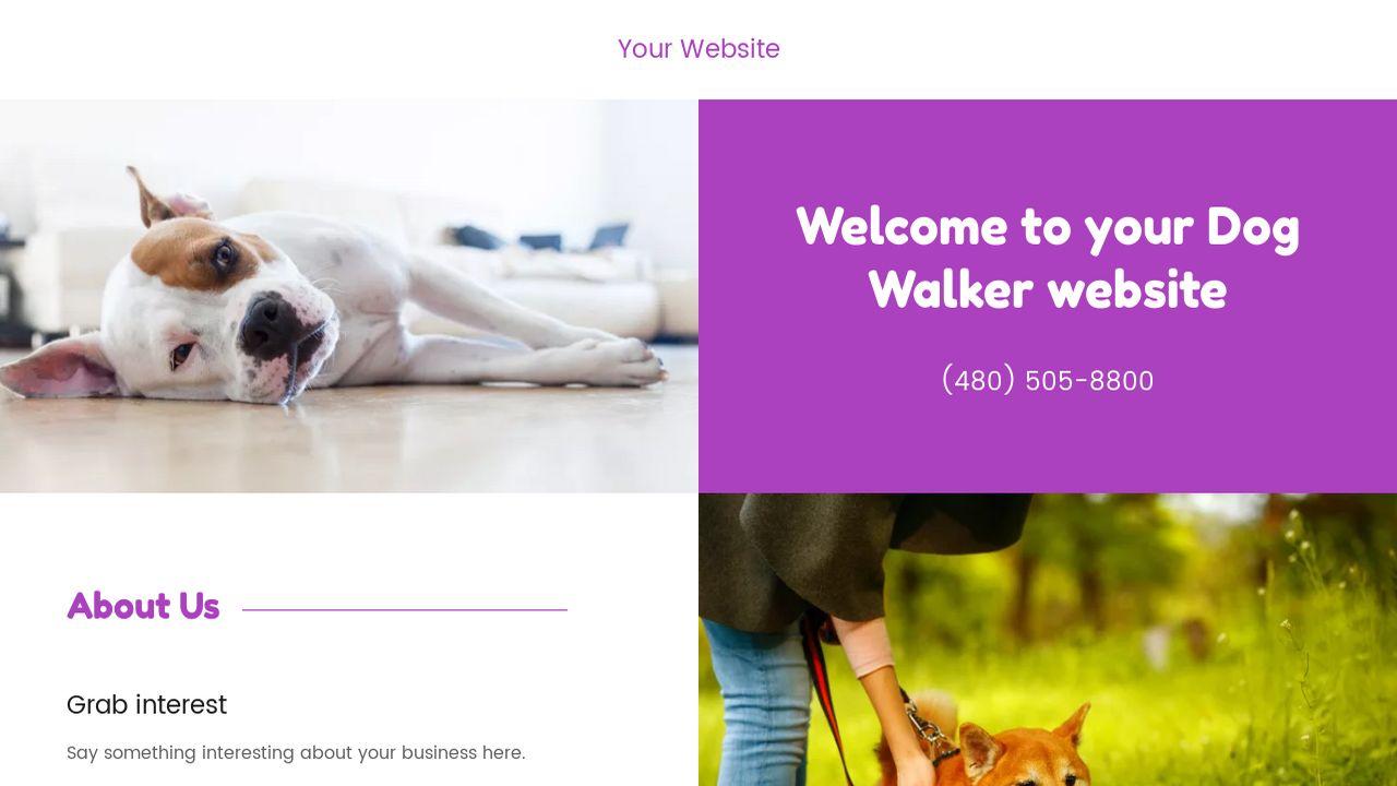 Dog Walker Example 10
