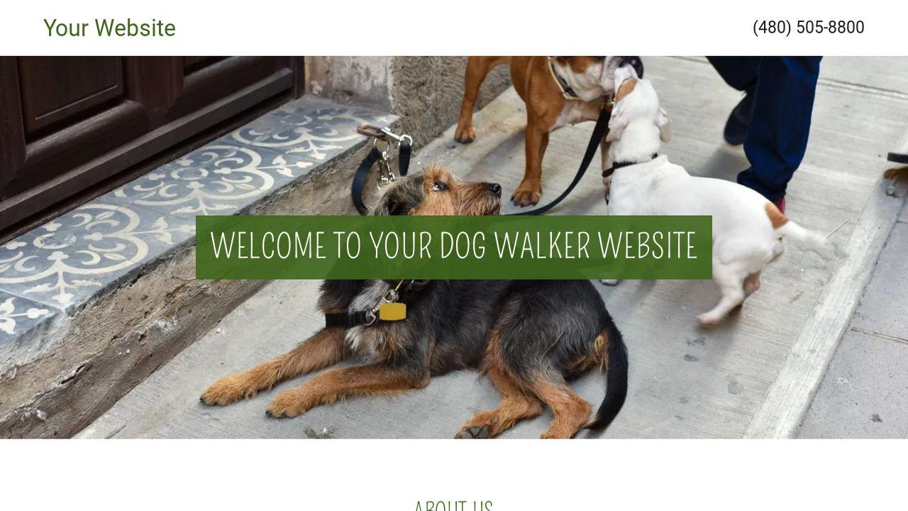 Dog Walker Example 13