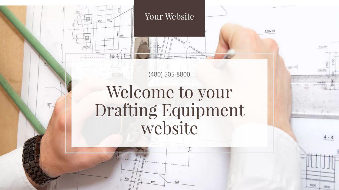 Drafting Equipment Website Templates GoDaddy - Drafting equipment